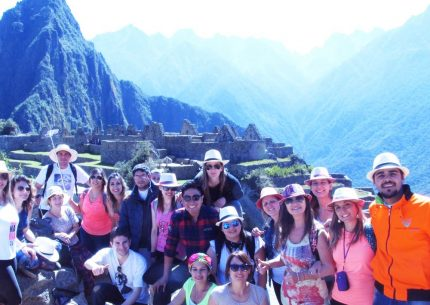machu picchu people tour
