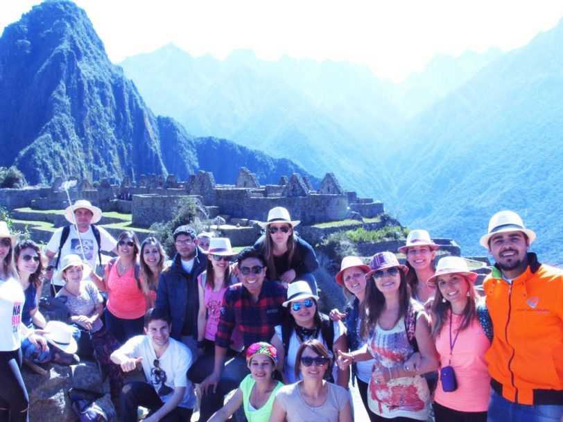 Peru Agency group in Machu Picchu, Cusco tours