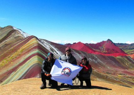 Rainbow Mountain in Cusco, Peru