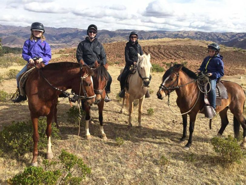 Horse Tour riding Maras Moray full day