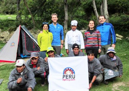 Peru Agency group in Inca trail to Machu Picchu