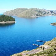 lake titicaca by catamaran scenery program