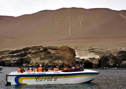 Boat tour by paracas, ica and nazca
