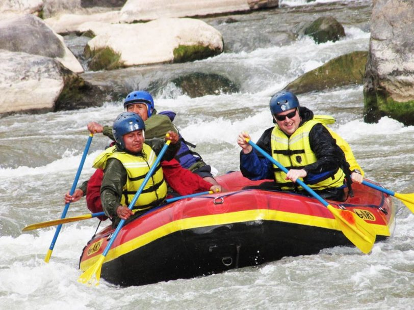Rafting pachar Ollantaytambo full day
