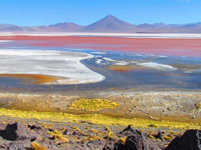 Uyuni salt flat Coloured Lagoons 3 days 2 nights